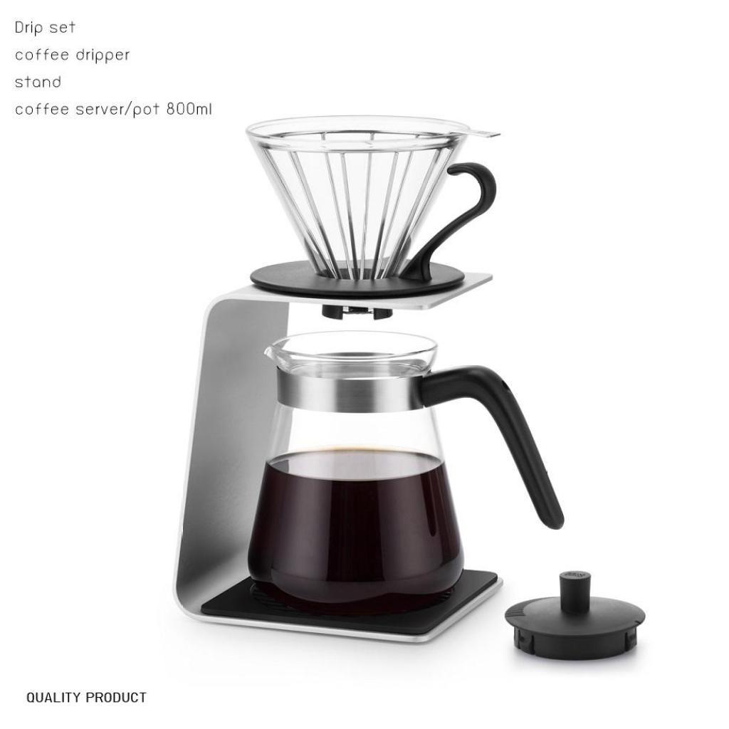 ขนม เครื่องทำกาแฟดริป  Drip set  coffee maker Pour over coffeeนม เครื่องทำกาแฟดริป  Drip set  coffee maker Pour over cof