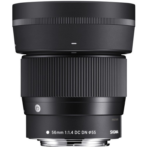 Sigma 56mm f/1.4 DC DN Contemporary Lens - [for Canon EF-M]
