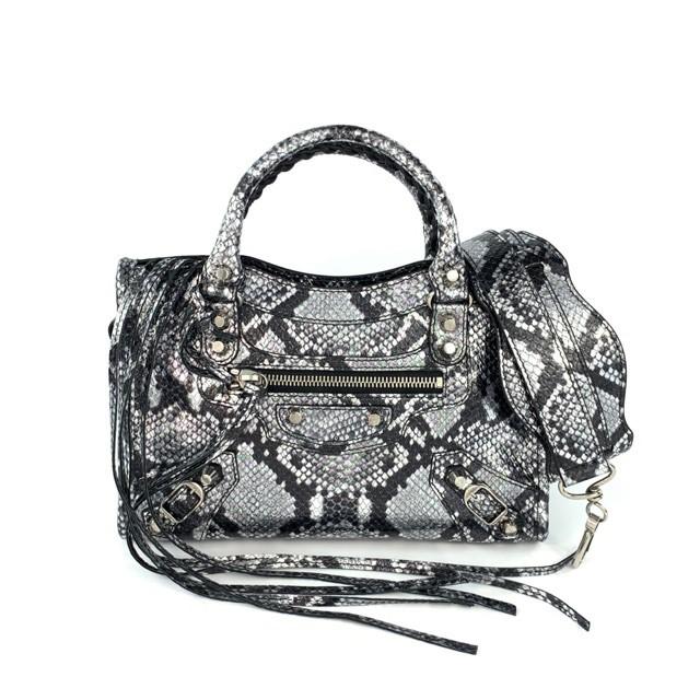 Balenciaga Mini City, กระเป๋าสะพายไหล่ส่งของแท้ 100%, กระเป๋าถือ