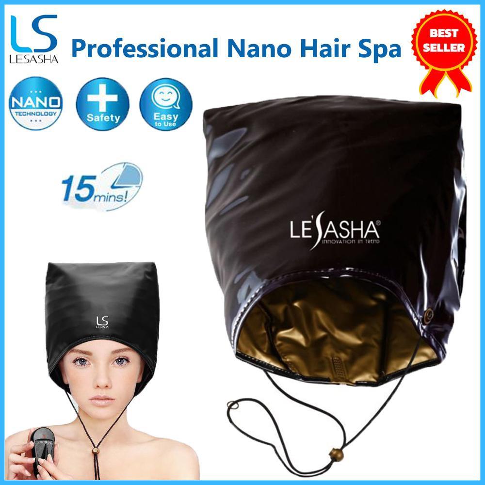 โล๊ะสต๊อค (ไม่มีกล่อง) Lesasha หมวกอบไอน้ำ รุ่น Professional Nano Hair Spa ถนอมผม LS0573