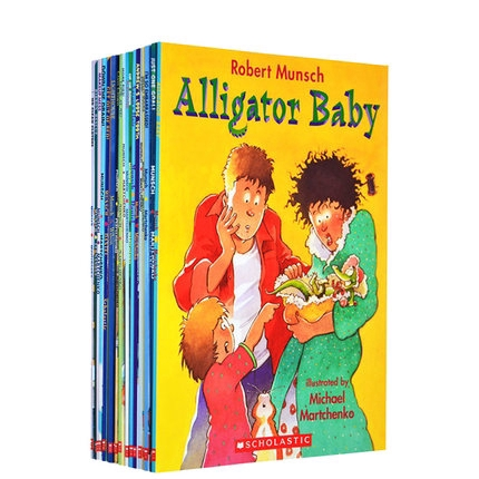 23 Books/Set สมุดระบายสีของเล่นสำหรับเด็ก Robert Munsch English Books for Kids