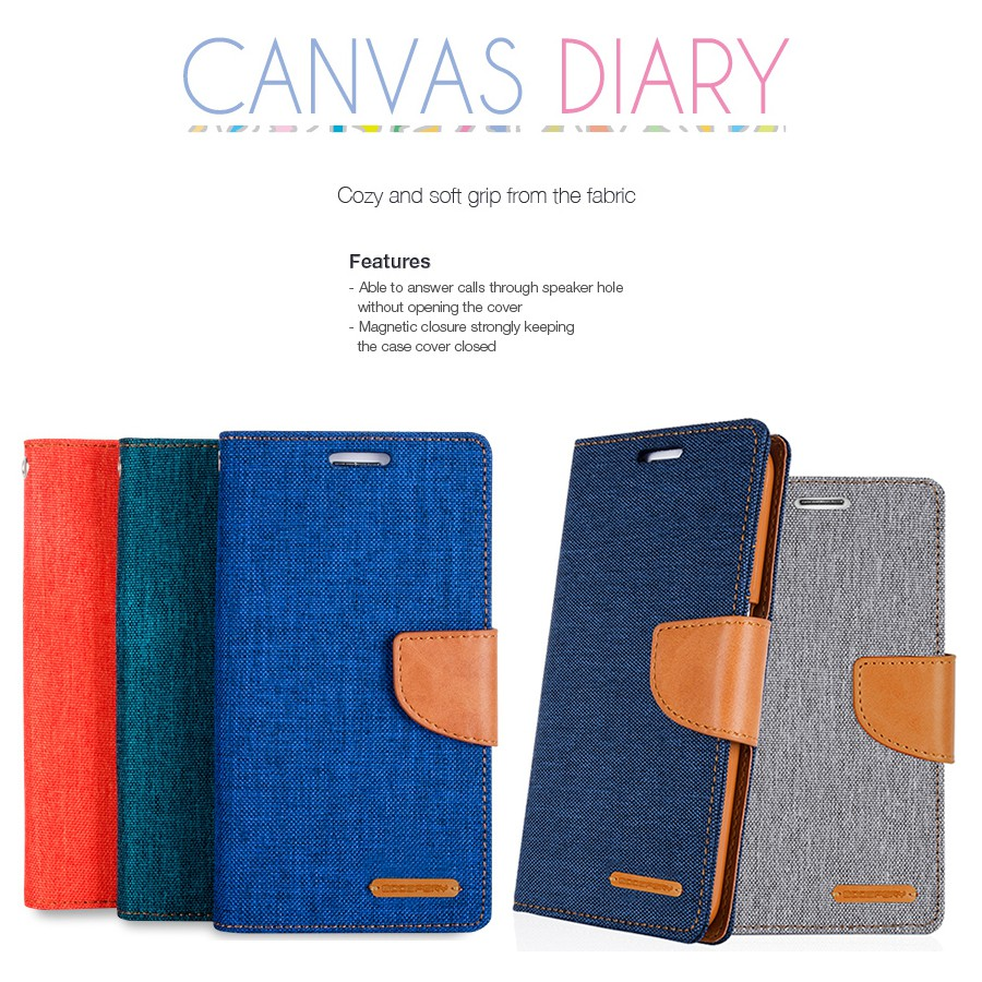 Mercury Goospery Ring2 For Iphone X Electroplating Side Tpu Full 7 Canvas Diary Case Blue Coverage Shockproof Protective Back Cover Shopee Thailand