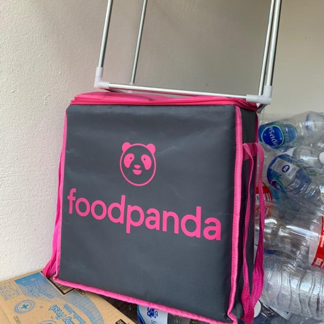 โครงกระเป๋า Foodpanda ใบเล็ก (จำหน่ายเฉพาะเครง)