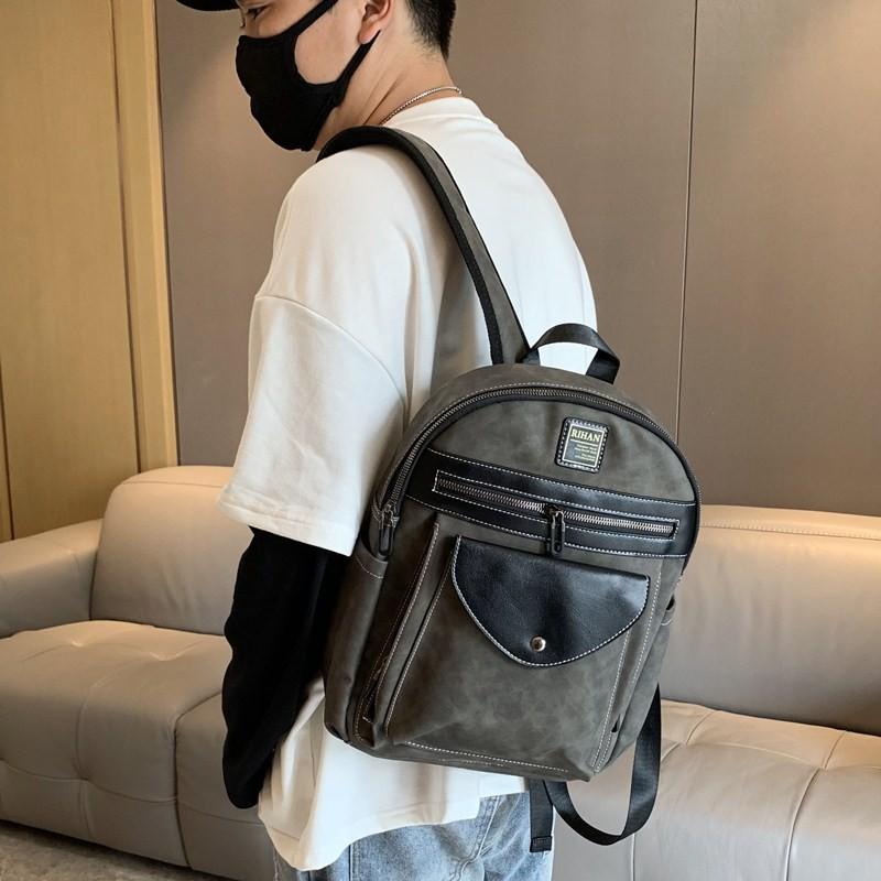 กระเป๋าเดินทางใบเล็ก 14 นิ้วกระเป๋าเดินทางใบเล็กมือสองกระเป๋าเดินทางใบเล็กน่ารัก✗♂กระเป๋าเป้สะพายหลัง Unisex แฟชั่นย้อนย