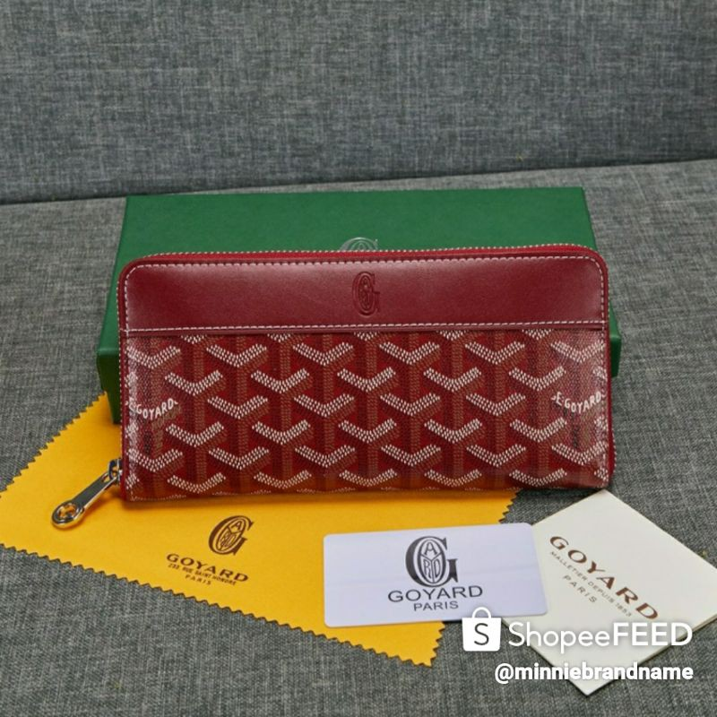 Goyard Zippy Long Wallet