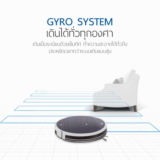 PetVac360 หุ่นยนต์ดูดฝุ่น และถูพื้นแบบแท็งค์น้ำ Wifi GYRO MAPPING VIRTUAL WALL 140K