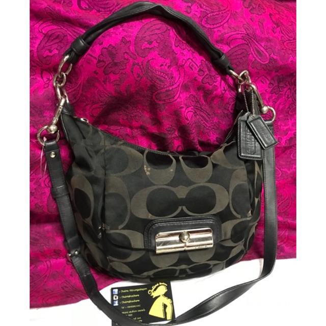 Used coach 2ways bag สะพายข้างได้ถือได้