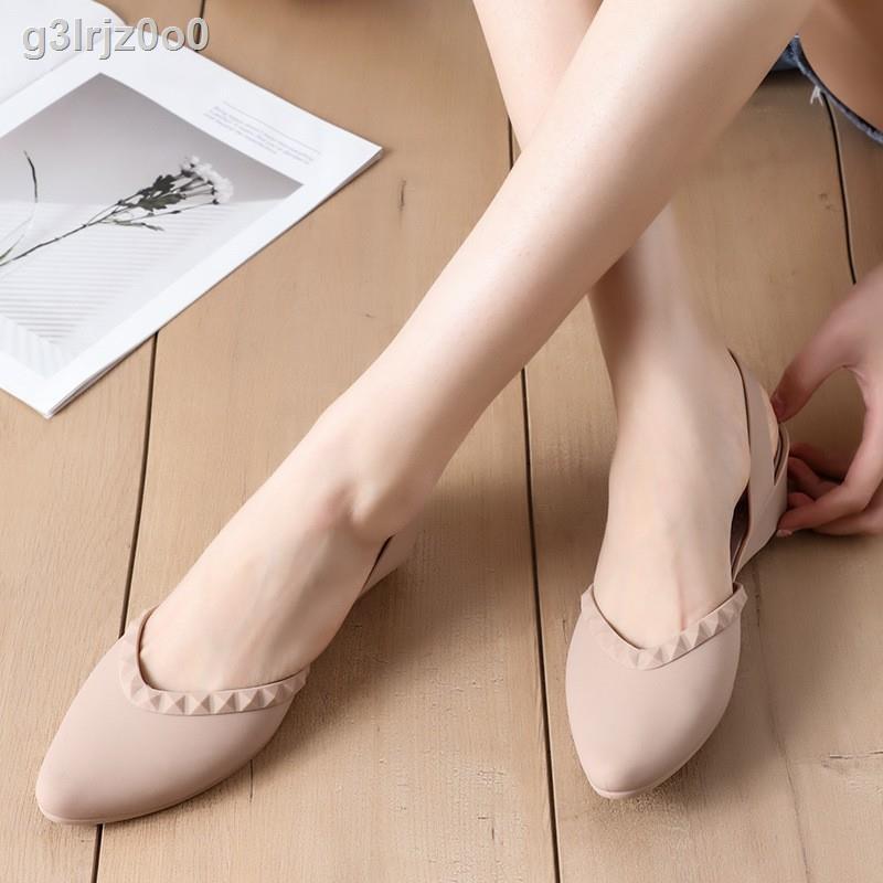 🔥มีของพร้อมส่ง🔥ลดราคา🔥㍿❀❏Berry Mall ของแท้ 100% รองเท้าคัทชู ผญ รองเท้าคัทชูผญ รองเท้าคัทชูว รองเท้าแตะคัทชู รองเท้า