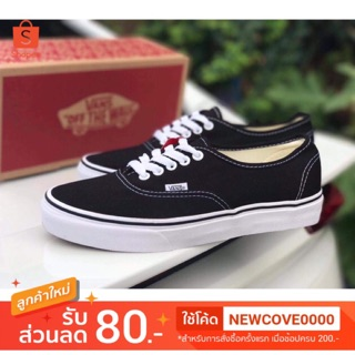Review Vans Authentic   Black/White FreeEms❗️+Box