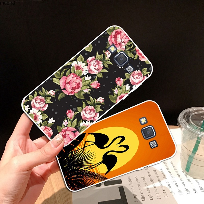 Samsung A3 A5 A6 A7 A8 A9 Star Pro Plus E5 E7 2016 2017 2018 Girl Soft Silicon TPU Case Cover