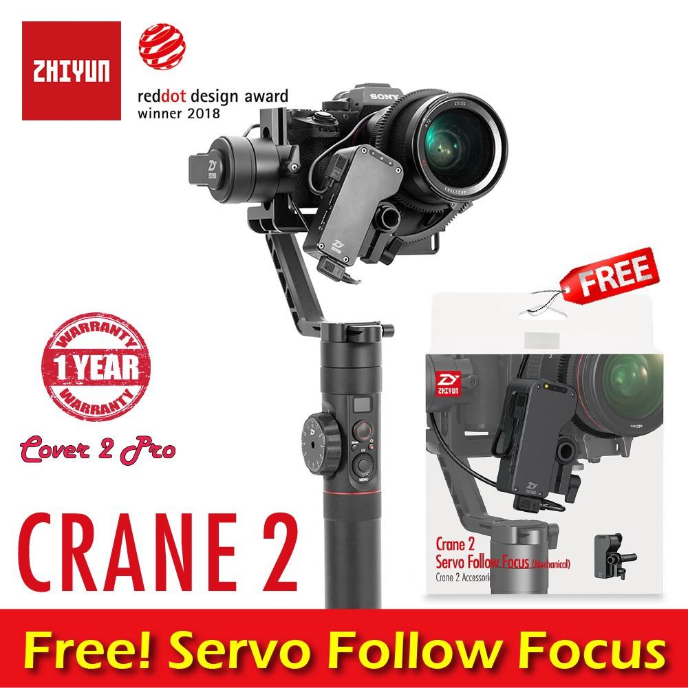 Zhiyun Crane Eh002 Dual Hand Extended Handle Handheld 2 Servo Follow Focus Mechanical Grip Bracket Kit For 3 Axis Gimbal Shopee Thailand