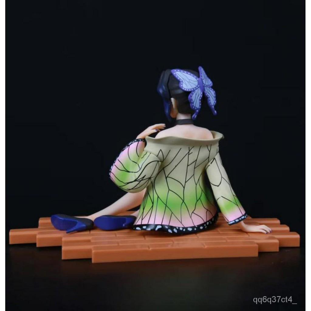 Demon Slayer's Blade Kochou Shinobu ect illar Sitting osture Standing osture Boxed Figure Birthday Gift Decoration Mode1
