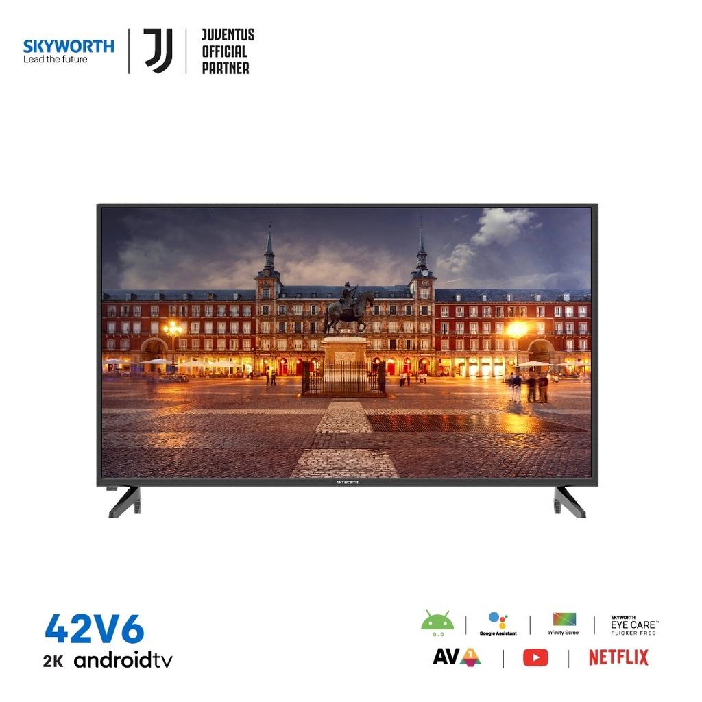 Skyworth 42 นิ้ว Android Tv รุ่น 42v6 Google Play.