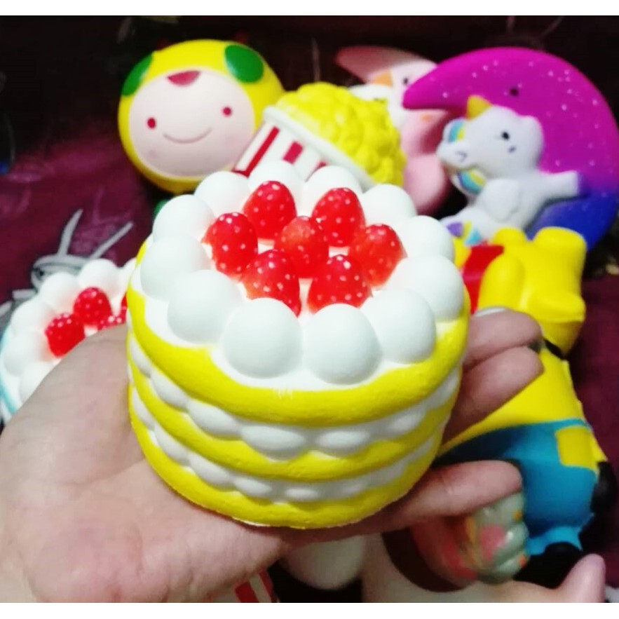 Super Slow Rising Phone Straps Soft Cream Scented Bread Cake Kid Fun Toy Gift 13cm Jumbo Simulation Fruit Mango Squishy To Win Warm Praise From Customers Cellphones & Telecommunications