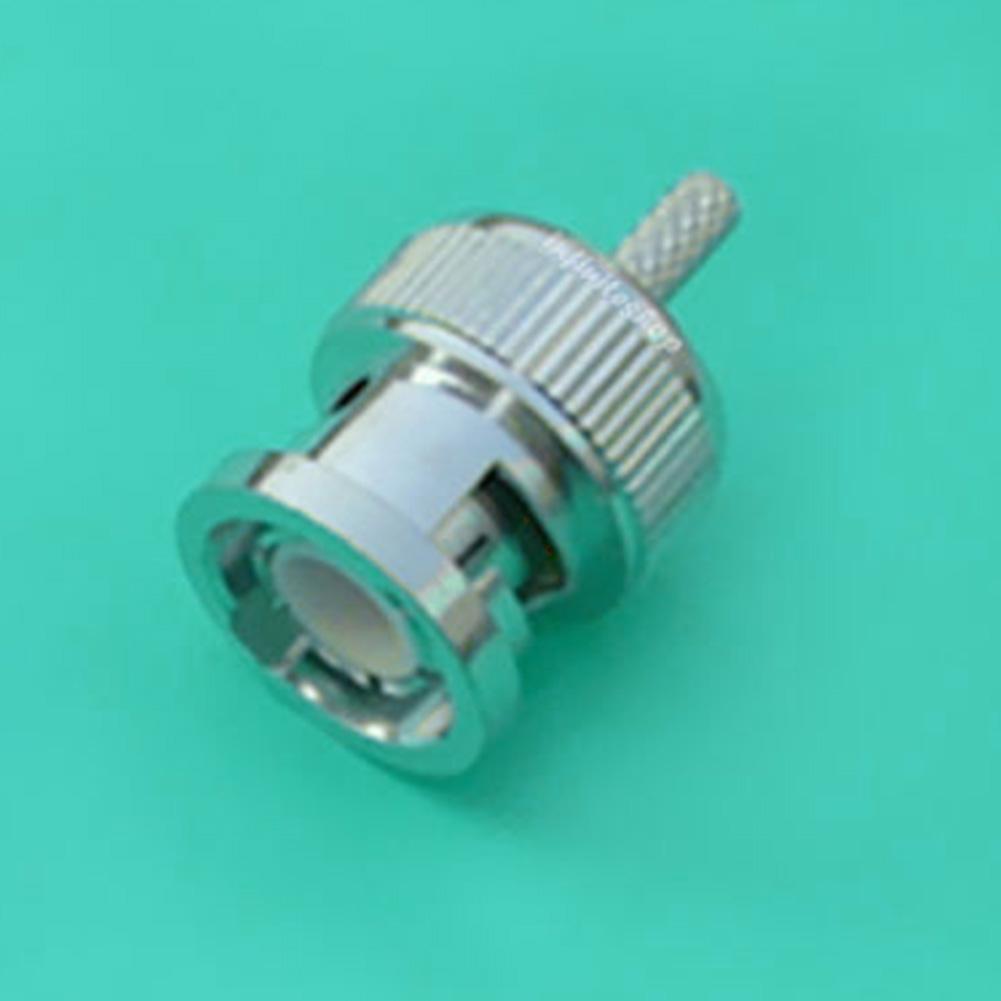 50pcs BNC male plug crimp For RG174 RG316 RG179 LMR100 Cable RF connectors