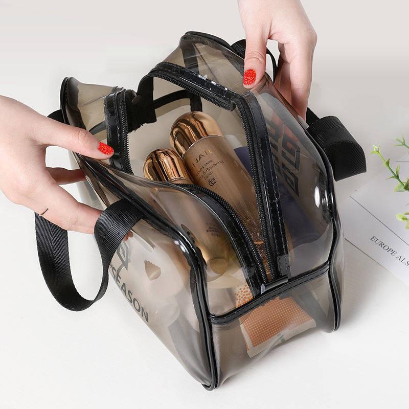 กระเป๋าถือใบเล็ก กระเป๋าสะพายข้างใบเล็ก กระเป๋าสะพายข้างใบใหญ่ กระเป๋าสตางค์ใบเล็ก กระเป๋าใบเล็ก ♞กันน้ำโปร่งใสเดินทาง I