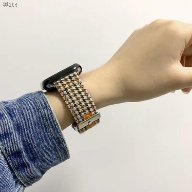 ✳۞♧สายสำหรับ Applewatch สายนาฬิกา สายหนัง สายนาฬิกา 38mm 40mm 42mm 44mm series 1/2/3/4/5/6 SE