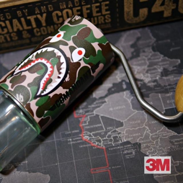 ฟิลม์กันรอย3M เครื่องบดกาแฟ Comandante C40