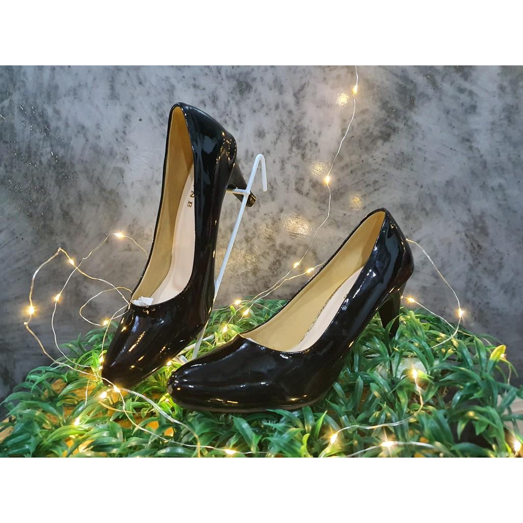 รองเท้าคัชชูหญิง ดำแก้ว รองเท้าผู้หญิง รองเท้าคัชู