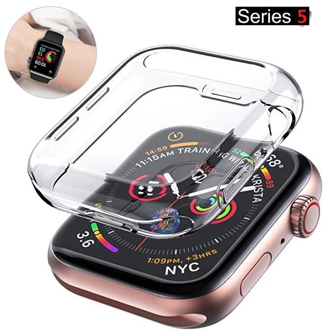 เคส applewatch เคสหน้าปัดนาฬิกา สำหรับ Apple Watch SE 6 5 4 3 2 1 ขนาด 40 มม. 44 มม. 42 มม. 38 มม.