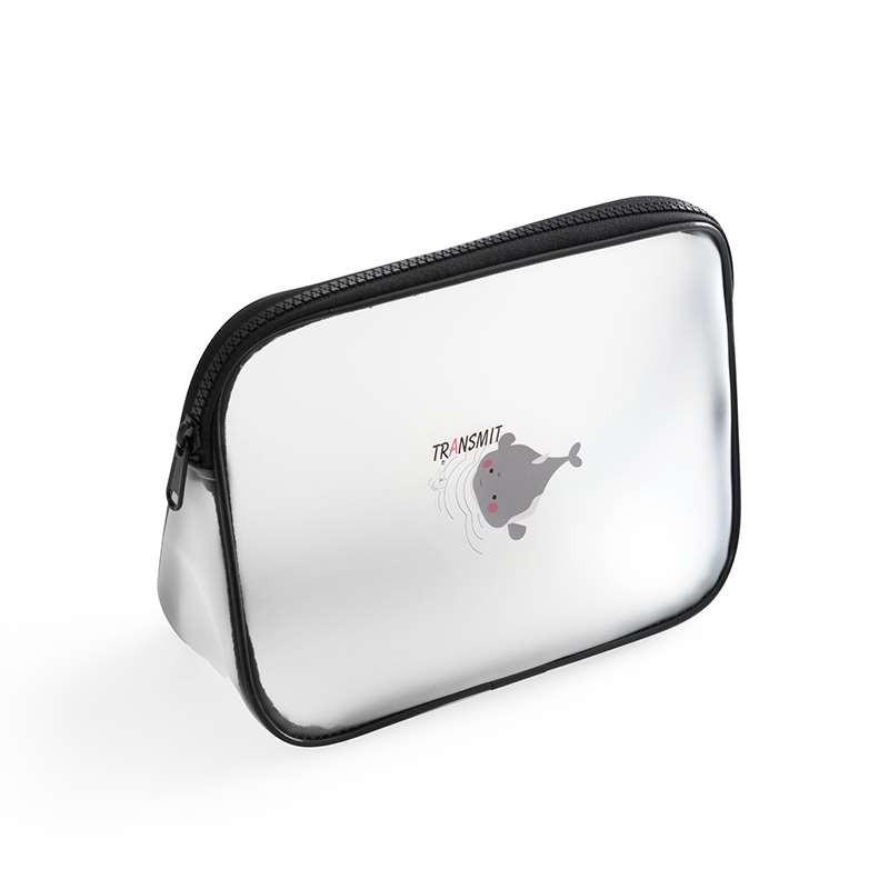 กระเป๋าเครื่องสำอางแต่งหน้าใหม่น่ารักใบเล็กปี 2021 เดินทางง่ายและพกพาได้หญิงโปร่งใสกันน้ำผลิตภัณฑ์ดูแลผิวที่เก็บกระเป๋าใ