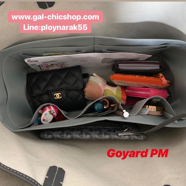 ช่องจัดระเบียบกระเป๋า Goyard PM