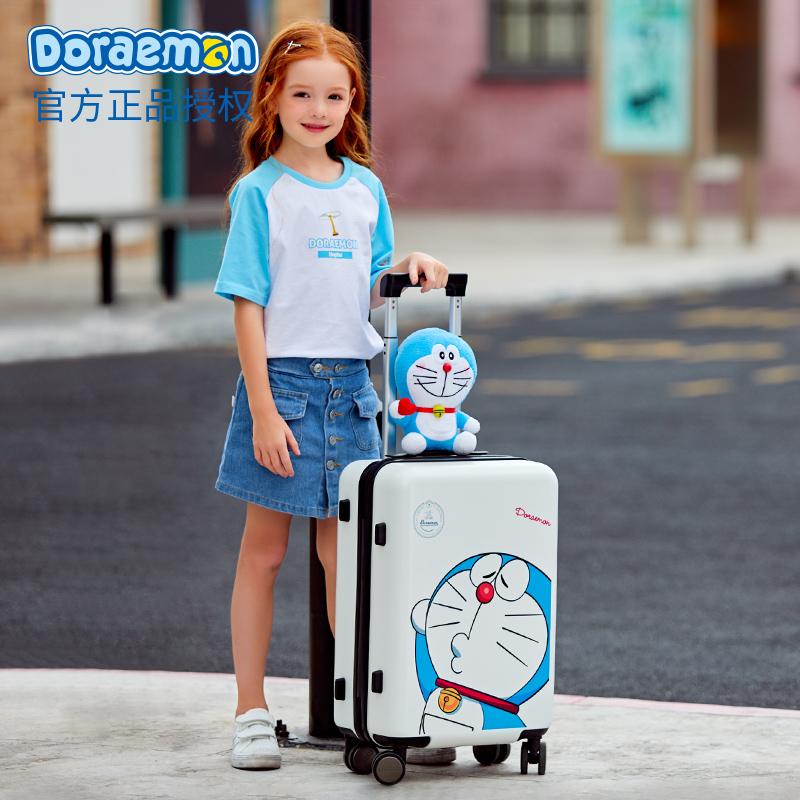 ゲ✪กระเป๋าเดินทางเด็ก  กล่องเดินทางโดราเอมอนกระเป๋าผู้หญิงขนาดเล็ก20นิ้ว18การ์ตูนน่ารักเด็กกระเป๋าเดินทาง24นักเรียนกระเป๋