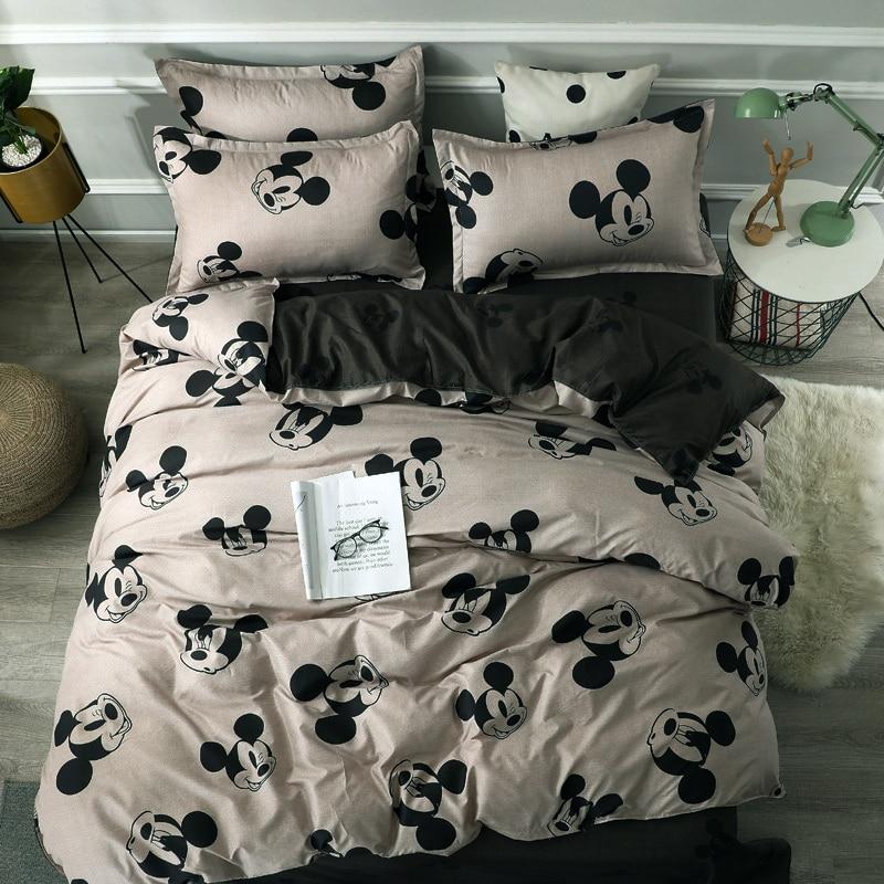 Please Cod Disney Mickey Minnie Mouse, Disney King Size Bedding Sets