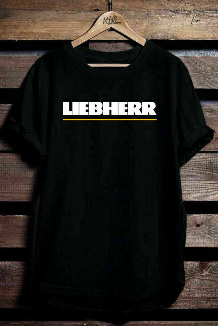 เสื้อยืดโลโก้ Liebherr