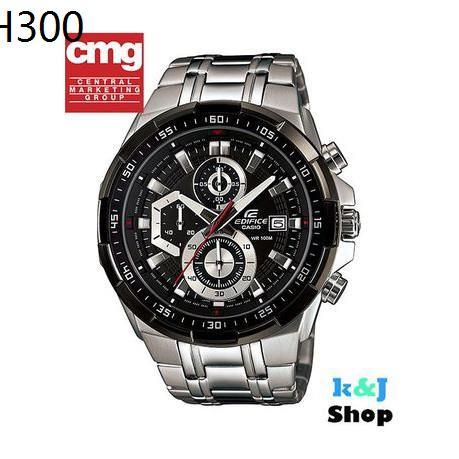 Casio Edifice นาฬิกาข้อมือผู้ชาย โครโนกราฟ สายสแตนเลส รุ่น EFR-539D-1A