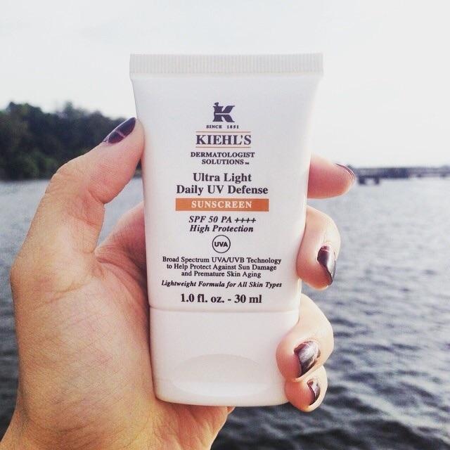 (ไม่แท้คืนเงิน)Kiehl's Ultra Light Daily UV Defense Sunscreen SPF 50 PA++++ 30 ml. | Shopee Thailand