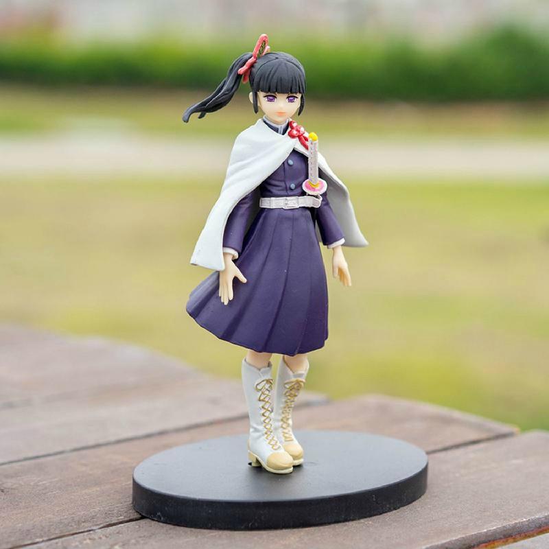 Devil's Blade Anime Figure Demon Slayer Tsuyuri Kanawo VC Action Figure Jaan Manga Kimetsu No Yaiba Collectible Model To