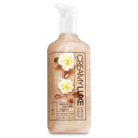Bath & Body Work / Warm Vanilla Sugar  / Creamy Luxe Hand Soap 236ml