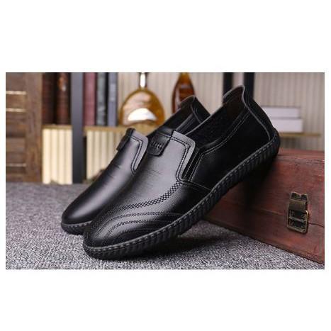 รองเท้าหนังผู้ชาย รองเท้าคัชชูผู้ชาย FF รองเท้าหนังสุภาพบุรุษ (สีดำ) (สีน้ำตาล)รุ่น 9124