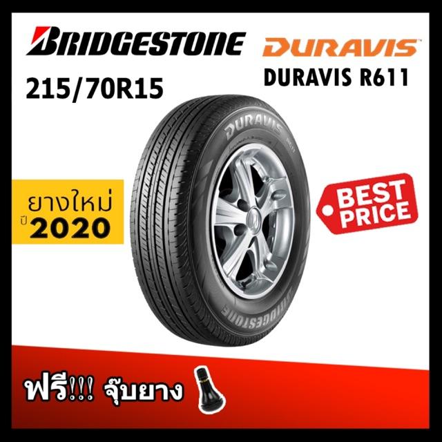ยางรถยนต์ 215/70R15, 205/70R15 Duravis R611 บริดจสโตน ปี20
