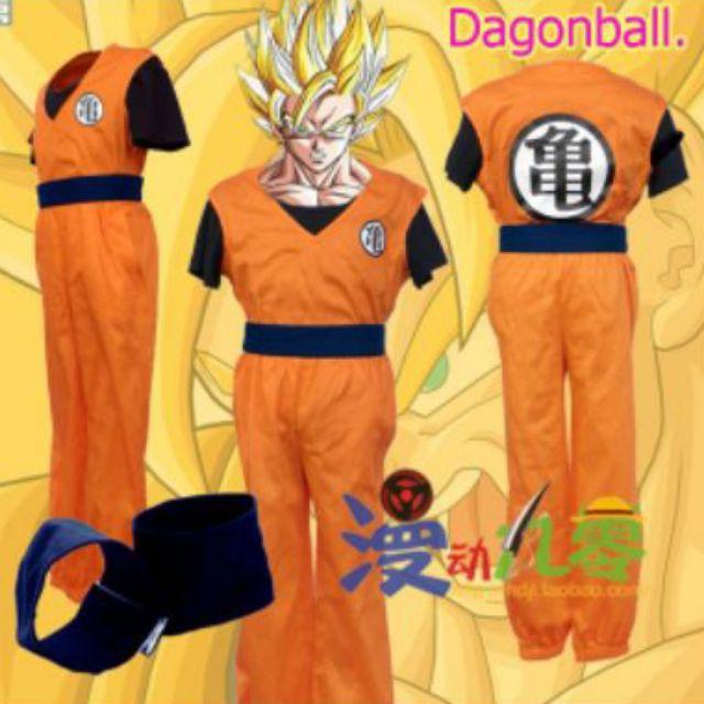 Cosplay ชุดดราก้อนบอล ชุดแฟนซี ชุดคอสเพลย์ ชุดการ์ตูน dragonball ดราก้อนบอล