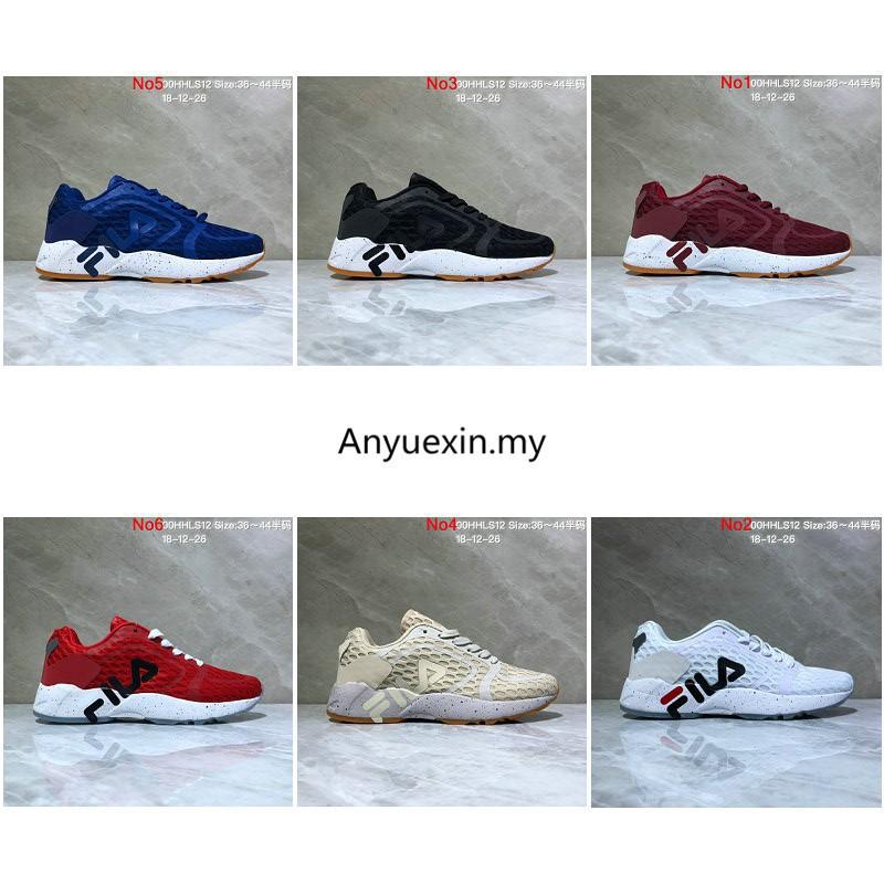 Fila FHT RJ Mind Bender ผู้ชาย ผู้หญิง รองเท้าผ้าใบ แท้ รองเท้ากีฬา รองเท้าวิ่ง women men running shoes size:36-44