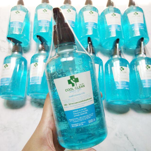 เด็กใช้ได้ เจลล้างมือ Cool Clean 70% v/v