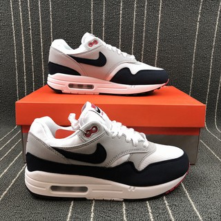 cbd8c5425c9 Nike รองเท้าผ้าใบAir Max 1 87 small air cushion retro running shoes  908375-104