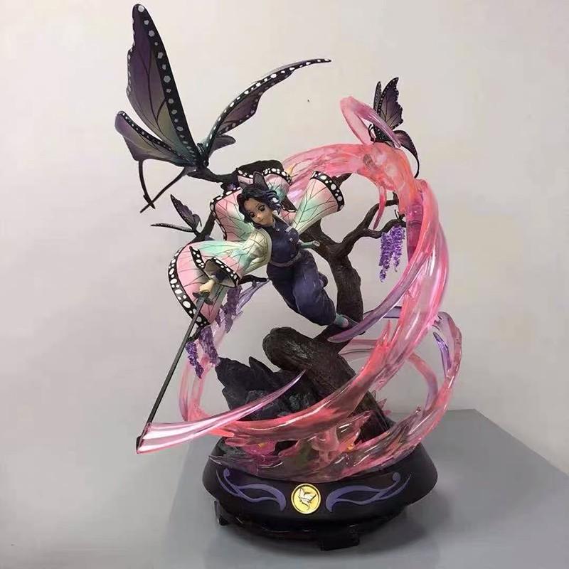 รูป:36cm Kimetsu No Yaiba Anime Figure GK Kamado Nezuko Kochou Shinobu Action Figure Demon Slayer Kochou Shinobu Figurin