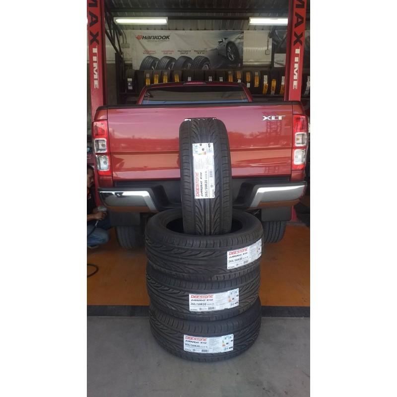 ยาง Deestone 265/50-20 R702 4 เส้น