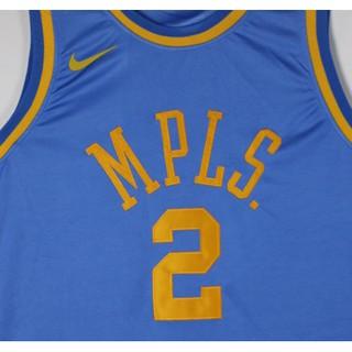 pretty nice 8662d 7feda 19 new guanwen Los Angeles Lakers Lonzo Ball NBA Jersey #2 Uniform blue