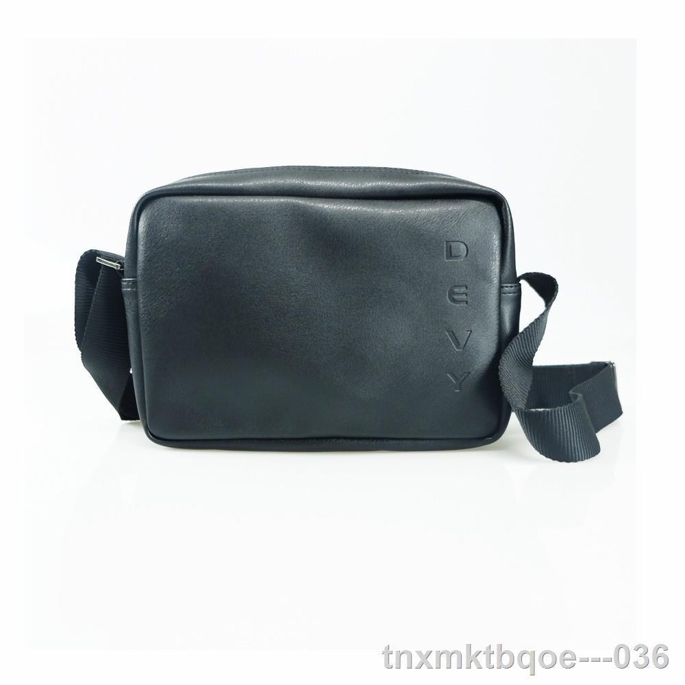 กระเป๋าคาดอกผู้ชาย❈✓DEVY กระเป๋าสะพายข้าง รุ่น 032-1014-1
