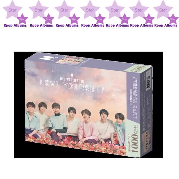 BTS - [JIGSAW PUZZLE 1000Pcs] World Tour Poster 2 : Love YourSelf ( KPOP )