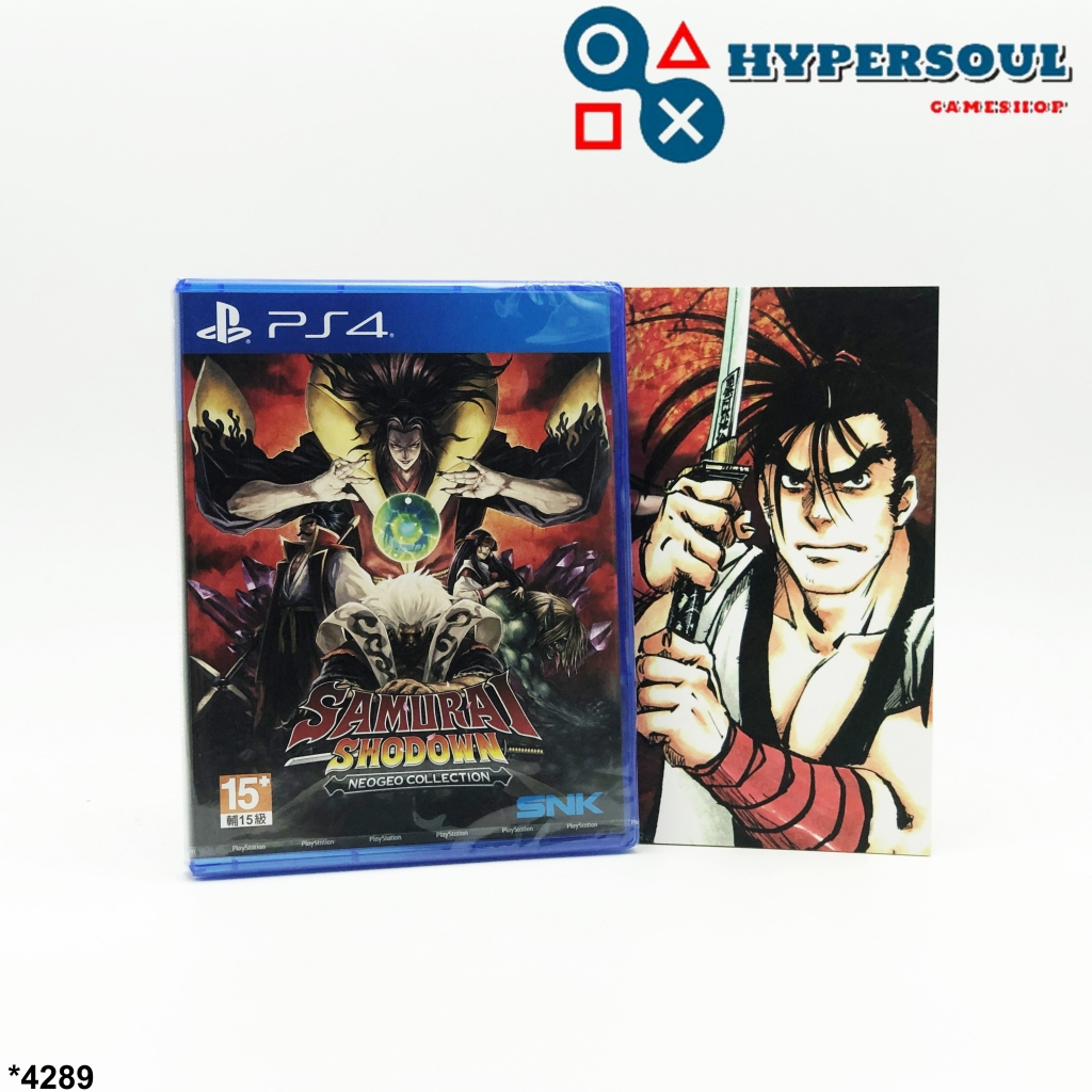 PlayStation4: Samurai Shodown NEOGEO Collection (Region3-Asia)(English Version) **แถมฟรี Artbook**