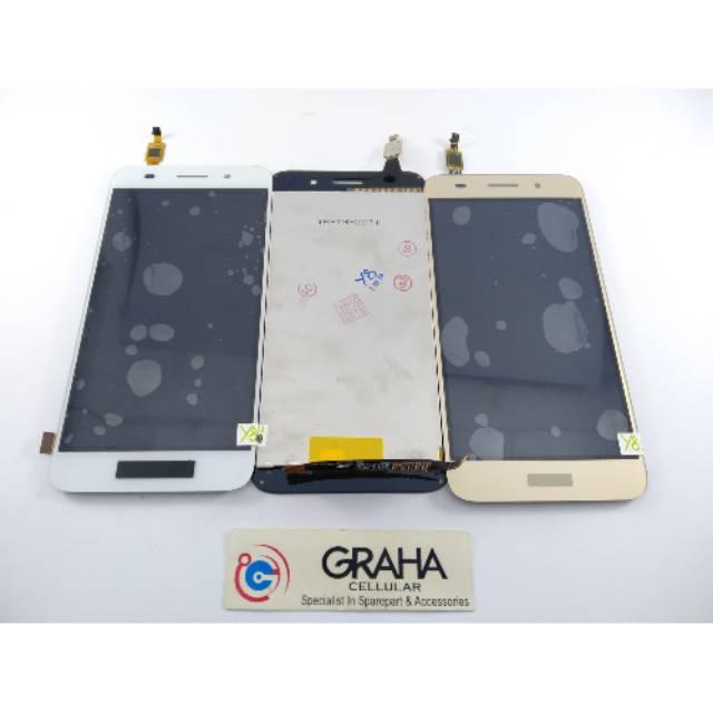 เคสแท็ปเล็ตหน้าจอสัมผัส Lcd สําหรับ Huawei Y3-2017 / Cro-l22