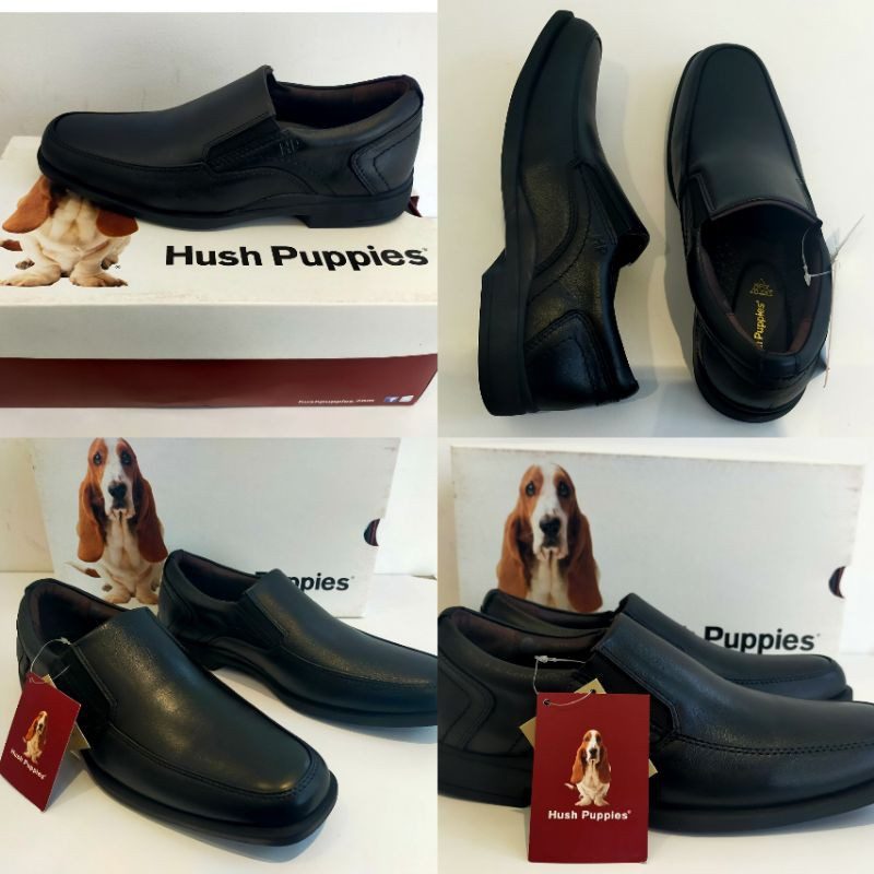 รองเท้าคัชชูผู้ชายHUSH PUPPIES หนังแท้100%