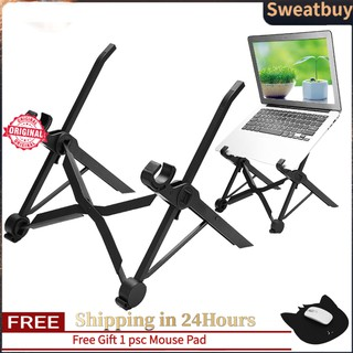【Free Shipping】【Best Seller Sweatbuy】NEXSTAND Foldable Laptop Stand Table Adjustable Height Lapdesk For Notebook