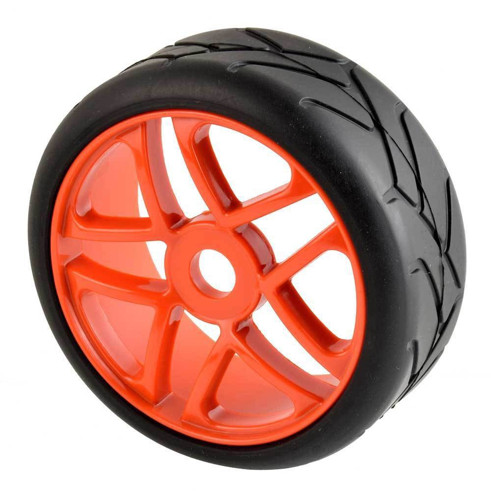 RC 81W-T807 Whee l/& Rubber Tires insert sponge 4P For HSP KYOSHO 1//8 Sandy Buggy