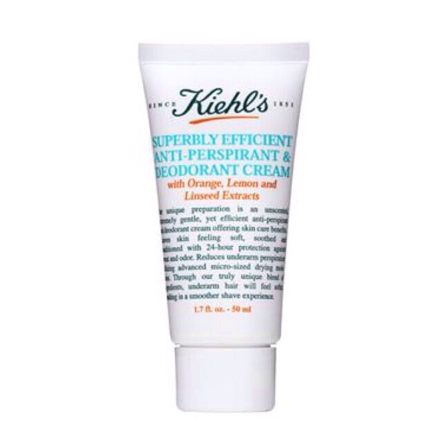 Kiehl's Superbly Efficient Anti-Perspirant and Deodorant 75 ml